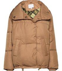 puffer jacket gevoerd jack roze coster copenhagen