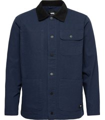 drill chore coat jeansjacka denimjacka blå vans