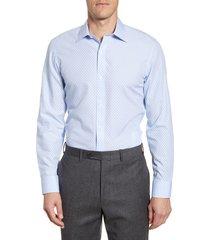 men's bonobos trim fit dot dress shirt