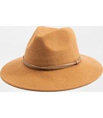 rochelle twist band floppy hat - tan