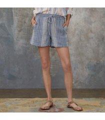 sundance catalog women's terra luna shorts in denim xs