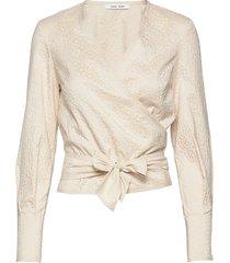 luna blouse 11402 blouse lange mouwen crème samsøe samsøe