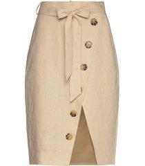 stambecco knälång kjol beige fall winter spring summer