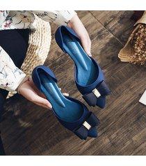 boca de pescado con cuentas sandalias casuales para mujeres con tacones