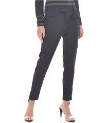 pantalon para mujer en poliester color-negro-talla-14