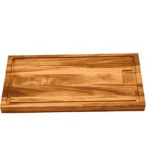 tábua de churrasco de madeira muiracatiara envernizada da tramontina penne