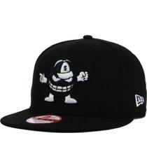 new era syracuse orange black white 9fifty snapback cap