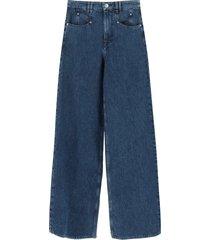 isabel marant lemony oversized jeans