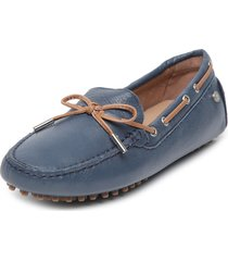mocasín azul hush puppies