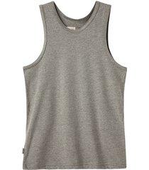 camiseta manga sisa gris  offcorss