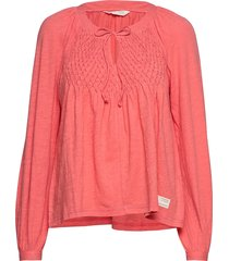 i call it life blouse t-shirts & tops long-sleeved roze odd molly