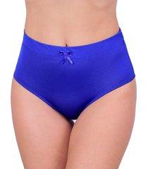 calcinha vip lingerie alta castanho azul