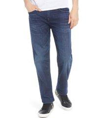 men's true religion devin relaxed fit jeans, size 29 - blue