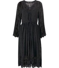 klänning vmjasmine 7/8 emb calf shirt dress