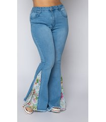 akira plus size spring awakening high waisted flare jeans