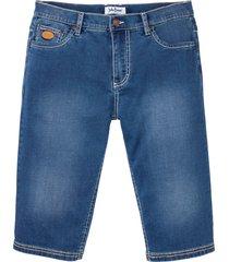 bermuda lunghi elasticizzati regular fit (blu) - john baner jeanswear