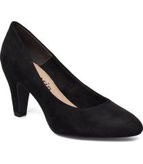 woms court shoe shoes heels bridal classic svart tamaris