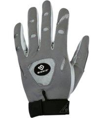 bionic gloves men's tennis gray gloves