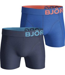 bjorn borg boxershort 2pak seasonal solid nautical blue