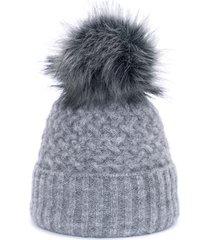 czapka chic szara