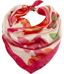 pañuelo rosa bohemia estampado