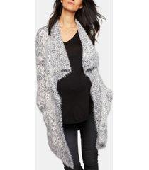 bb dakota maternity open-front cardigan
