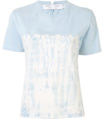 proenza schouler white label tie-dye slim-fit t-shirt