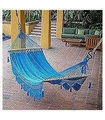 cotton hammock, 'coco beach' (single) (nicaragua)