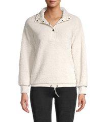 c & c california women's stand collar jacket - pumice stone - size s