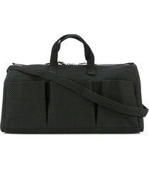 cabas multi-pocket tote bag - black