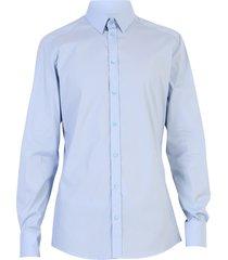 dolce & gabbana light blue stretch shirt