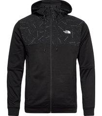 m tnl ovrlay jkt outerwear sport jackets svart the north face