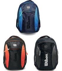 mochila deportiva wilson morral colores degradado bolso