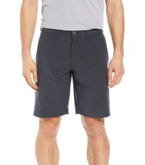 men's travis mathew kendo performance shorts, size 30 - grey