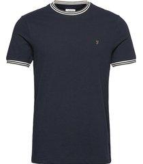 texas t-shirt t-shirts short-sleeved blå farah