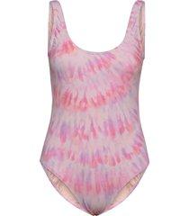 keep it mellow 1 pc baddräkt badkläder rosa billabong