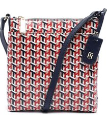 cartera lg ns xbody multicolor tommy hilfiger