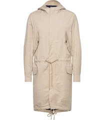 kite-eco twill trench coat rock beige j. lindeberg
