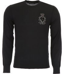 dolce & gabbana pullover with sacred heart