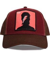 gorra marrón trown headware davidbowie