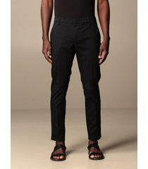 dondup pants gaubert chino trousers in cotton with bottom 17