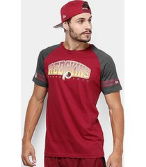 camiseta nfl washington redskins new era vintage masculina