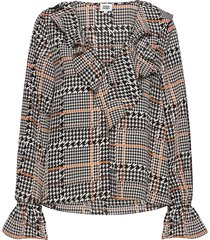 doris blouse blouse lange mouwen multi/patroon twist & tango