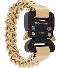 1017 alyx 9sm cubix chain bracelet - gold