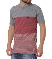 camiseta occy manga curta masculina
