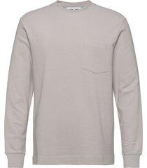 adhil crew neck 11696 sweat-shirt tröja grå samsøe samsøe