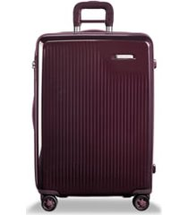briggs & riley sympatico 27-inch expandable wheeled packing case - purple