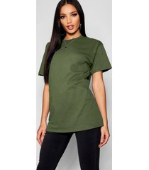 basic oversized boyfriend t-shirt, khaki