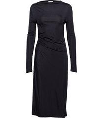 josita jurk knielengte zwart dagmar