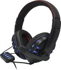 audifonos diadema gamer star tec  st-g3 usb  negro blister